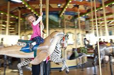 How to Photograph a Carousel Image — ©Courtney Slazinik: Courtney harnesses the motion of the merry-go-round with her Tamron 18-270mm VC PZD lens...