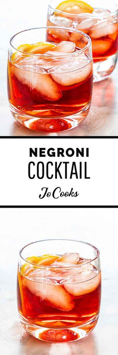 This simple Negroni recipe is a simple and refreshing Italian cocktail made with 3 ingredients. Enjoy it with a bold dinner featuring salty meats or afterwards as an aperitif! Mexican Style Corn, Negroni Recipe, Italian Cocktails, Jo Cooks, Fajita Seasoning, Cast Iron Recipes, Canned Black Beans, Cooking Recipes, Healthy Recipes
