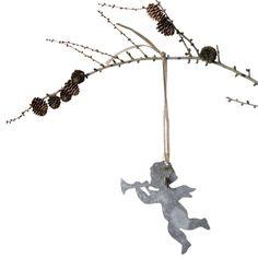 Angel zinc ornament