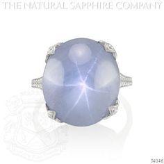 Blue Sapphire Ring - J4046