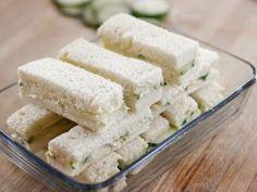 Cucumber Finger Sandwiches