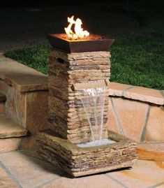 Patio Fountain Ideas | Tuscany Garden Patio Ideas to Create Amazing Outdoor Tuscany Living ...