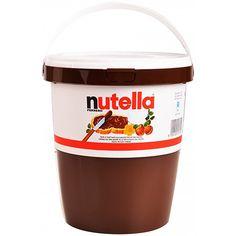 Für alle, die nicht genug kriegen, gibt es Nutella auch im XXL (3kg) Becher