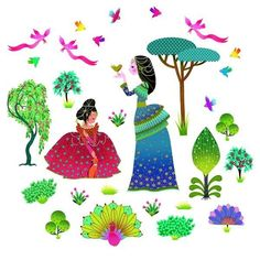 Lovely Princess Wall Stickers
