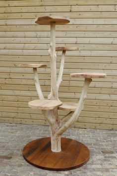 Create a picture result for the cat tree - Create a picture result for the scratching post - House Plants Decor, Plant Decor, Wood Projects, Woodworking Projects, Diy Cat Tree, Cat Towers, Cat Playground, Cat Room, Pet Cage