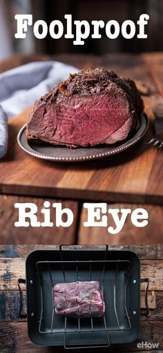 Need a great foolproof recipe to feed family and friends? This ribeye roast is the way to go! They feed a crowd, look oh-so impressive and require low prep. The beef is well marbled giving you a beautiful flavor while riding the line between tender and perfectly chewy. This simple preparation will always give you exceptional results: http://www.ehow.com/how_4895227_cook-beef-rib-eye-roast.html?utm_source=pinterest.com&utm_medium=referral&utm_content=freestyle&utm_campaign=fanpage