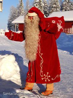 Père Noël visite Village Vacances du Père Noël