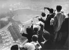 Forbes Field in Oakland the former home of the Pittsburgh Pirates. My Dad took me to games here as a child!