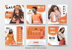 Social Media Banner, Social Media Template, Social Media Design, Banner Design Inspiration, Web Banner Design, Web Banners, Design Web, Instagram Design, Instagram Posts