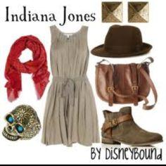 disneybound Indiana Jones outfit