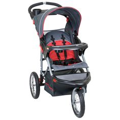 Expedition Sport 3-Wheel Stroller - Cranberry