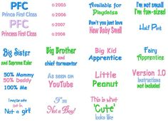 baby sayings baby sayings baby sayings Scrapbook Quotes, Baby Scrapbook, Baby Quotes, Baby Sayings, Machine Embroidery Designs, Embroidery Patterns, Burp Rags, Baby Bibs, Big Kids
