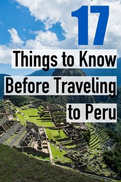 17 Things to Know Before Traveling to Peru – Most Commonly questions asked abo., TRAVEL, 17 Things to Know Before Traveling to Peru – Most Commonly questions asked about Peru South America Destinations, Top Travel Destinations, South America Travel, Places To Travel, Travel Tips, Travel Hacks, Travel Essentials, Backpacking South America, Nightlife Travel