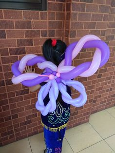 Butterfly balloon  Put a butterfly balloon as your costume will be so much fun #butterfly#balloon#twist#sculpture#morischool#showcase#ampm_artandpartymaker#tangerangselatan#bsd