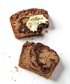 Marbled Chocolate Zucchini Bread recipe