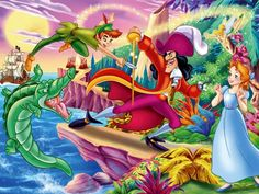 Peter Pan and Tinkerbell | peter pan hook wendy and others tinkerbell wallpapers peter pan