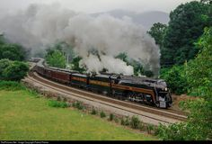 RailPictures.Net Photo: NW 611 Norfolk & Western Steam 4-8-4 at Bonsack, Virginia by Patrick Phelan