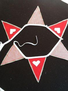 Felt red heart Felt, Cards, Felting, Feltro, Maps, Playing Cards