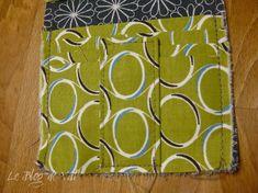 Tuto pochette porte-cartes - * * * Le Blog de ValèrIdées * * * Blog, Pattern, Tela, Sewing Tutorials, Coin Purses, Purses, Patterns, Sewing For Beginners, Tutorial Sewing