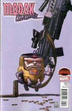 Modok Assassin (2015) 1B Marvel Comic books modern era cover