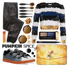 """Pumpkin Spice"" by olgutieuse ❤ liked on Polyvore featuring Sonia Rykiel, Casetify, Splendid, Guerlain, NARS Cosmetics, Repossi and Improvements"