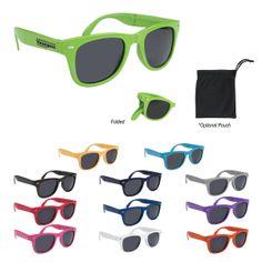 #6227 Folding Malibu Sunglasses