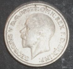 Rare Silver Coin 1934 Great Britain Six Pence, Near Uncirculated Condition: Very Fine Details Visible  http://www.amazon.com/gp/product/B00K7385EI/?tag=p1nt-20