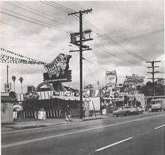 Sunset and Echo Park boulevard- repinned from You know you from Echo Park when...group on facebook