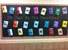 Descriptive Writing Idea- students write about a place they visited. Then crate a  passport as a display.