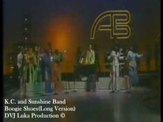 K.C. and Sunshine Band - Boogie Shoes. Gotta love 70's disco and KC and the Sunshine Band:)