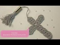 getlinkyoutube.com-Manualidades: SOUVENIR  de Primera Comunión/Crochet DIY ♥ Sor Amparo Arredondo R.