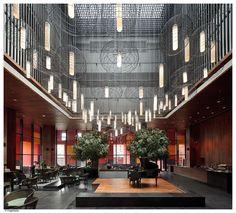 Neri&Hu Design Research Office's design of the Westin in Xi'an