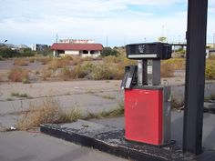 Agent 54                                            : Old Abandoned Truck Stop.