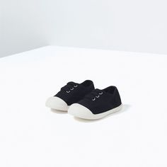 FADED EFFECT FABRIC PLIMSOLLS-SHOES-BABY BOY | 3 months-3 years-KIDS | ZARA Canada