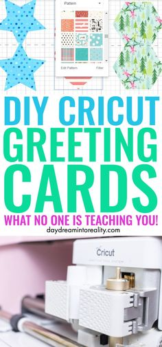 Learn how to make custom greeting and gift cards for any occasion with your Cricut Maker or Explore! Ditch the store bought cards! Make custom cards with your Cricut instead. Cricut Mat, Cricut Help, Cricut Craft Room, Cricut Cards, Cricut Tutorials, Cricut Ideas, How To Make Greetings, Cricut Design Studio, Gift Maker