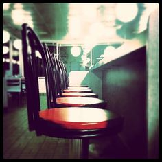 @Jerry Skaggs #wafflehouse #bar #stools #instagram #iphoneography