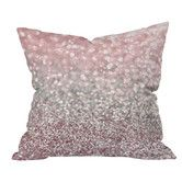 Found it at Wayfair - Lisa Argyropoulos Girly Snowfall Indoor/Outdoor Throw Pillow