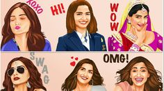 This Bollywood actor has launched stickers styled on looks from her movies Image:  GOOGLE PLAY STORE  By Sohini Mitter2017-02-02 10:03:56 UTC  Bollywood actor Sonam Kapoor has done a Kim Kardashian by launching in-app stickers styled after her.  The stickers are inspired by her looks from the films Neerja Aisha Khoobsurat I Hate Luv Storys and Dolly Ki Doli. Kapoor posted an in-app message announcing the new feature.  She wrote: Hey Tribe now you can react just like I would simply by using…