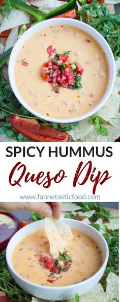 Spicy Hummus Queso D