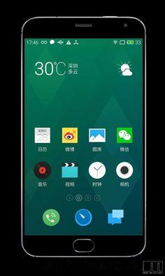 Interesante: Nueva filtracion del Meizu MX4 Pro, nos muestra una leve inspiración en Samsung y Apple