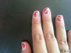 Monet watercolor nails :)