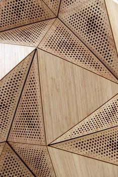 Apr 2020 - 57 Ideas For Origami Architecture Design Products Architecture Origami, Architecture Design, Facade Design, Acoustic Architecture, Tropical Architecture, Design Design, Sound Design, Triangular Architecture, Geometry Architecture