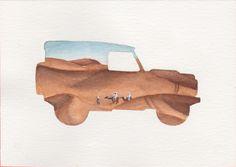 Land Rover Terrain Response Silhouette - Desert/Sand