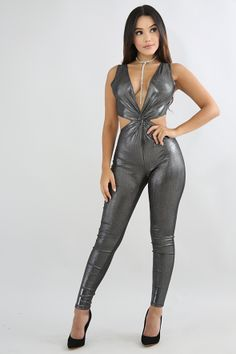 Shine Twist Jumpsuit