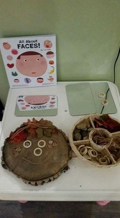 Great use of loose parts for self awareness! Credit to shirley devuono rempel via FB group The Reggio Emilia Approach.