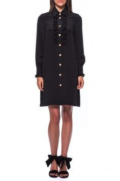 Love this simple yet sweet and easy Dress Bruyere. Great to style for fall. by Paul & Joe