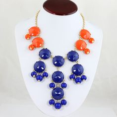 Gator Fever Large Bubble Statement Necklace