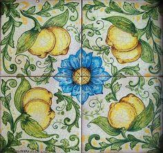 Handpainted Italian Ceramic Wall Tile Mural, Floor Tile Panel - Sicily Ghenos,http://www.amazon.com/dp/B0054YHS2A/ref=cm_sw_r_pi_dp_yIAUsb09M7D76BFG