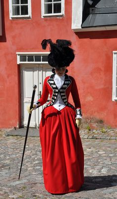 Before the Automobile: Late 1770's riding habit in the style of Lady Wosley, 2012
