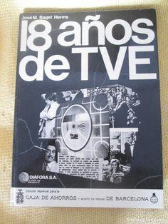 LIBRO 18 AÑOS DE TVE-DIAFORA S,A-AÑO 1975-FOTOGRAFIAS EN BLANCO Y NEGRO